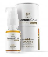 CANNABIGOLD 30% CBD OLEJ KONOPNY INTENSE 3000MG 12ML