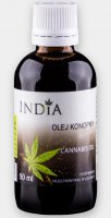 INDIA OLEJ KONOPNY Z CBD DO 10% CANNABIS OIL 50ml