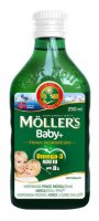 MOLLERS BABY+  TRAN NORWESKI NATURALNY MOLLER'S 250ml