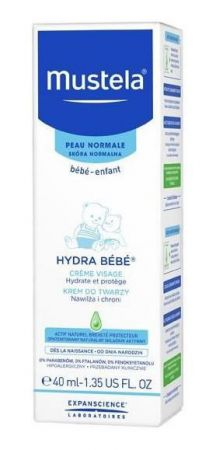 MUSTELA BEBE ENFANT HYDRA KREM DO TWARZY 40ml