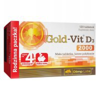 OLIMP GOLD-VIT D3 2000mg 120 TABLETEK