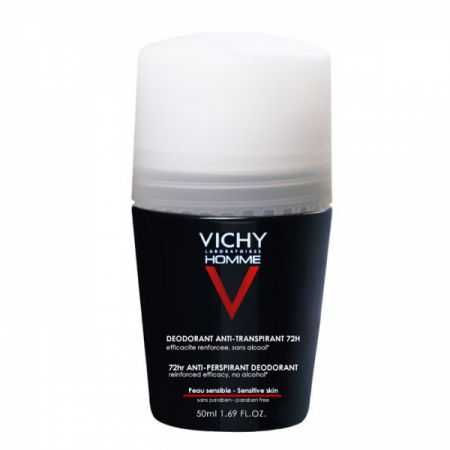 VICHY HOMME KULKA ANTYPERSPIRANT 72H ROLL-ON DEO 50ml